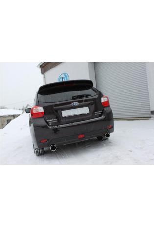 FOX Sportauspuff Endschalldämpfer Subaru Impreza GP 4x4 rechts links je 1x100mm