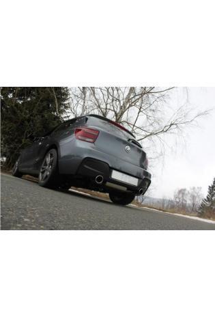 FOX Sportauspuff Duplex Komplettanlage BMW 1er F20/F21 M135i quer Ausgang rechts/links 1x100mm Typ 16