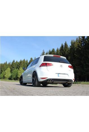 FOX Sportauspuff Endschalldämpfer VW Golf VII 4-Motion quer rechts/links 2x80mm