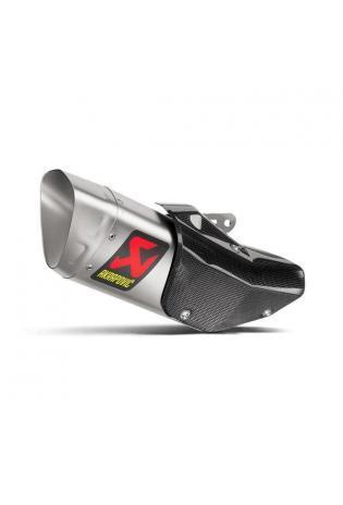 Akrapovic GP 1 Schalldämpfer mit Titan Außenhülle Typ Slip-on YAMAHA YZF R1 Bj. 15