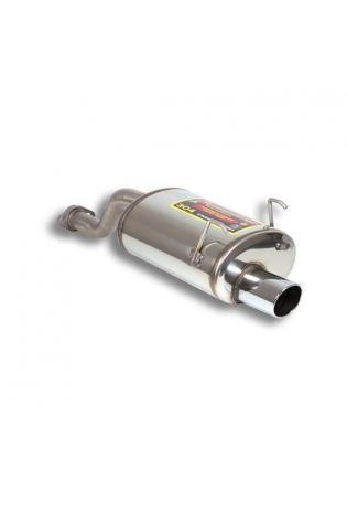 Supersprint Sportauspuff Endschalldämpfer 90x85mm - Honda CRX 1.6 VTI Bj. 92 EG2