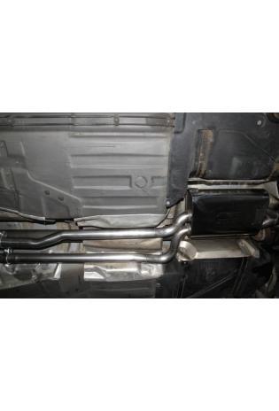 Einzelanfertigung Vorschalldämpfer für Audi A8 D2 2,8l Quattro