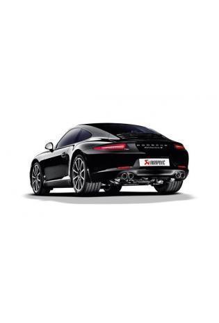Akrapovic Sportauspuff Endschalldämpfer für Porsche 911 Carrera S/4/4S/GTS Typ 991 ab 2015 rechts und links