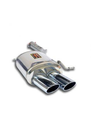 Supersprint Sportauspuff Endschalldämpfer für BMW F12 F13 640i ab 2011 Endrohr links 100x75