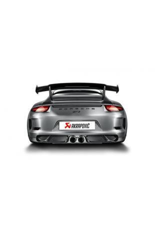 Akrapovic Sportauspuff Endschalldämpfer für Porsche 911 GT3 RS 991 2015 Endrohr mittig 2015