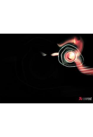 Akrapovic EVOLUTION-Linie 4 in 2 in 1 Titananlage EVO 2 mit Hexagonalen Endschalldämpfer in Carbon mit dB-Eater und Lambdaanschluss für KAWASAKI Ninja ZX 10 R Bj. 16