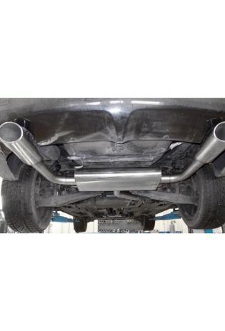 FOX Sportauspuff Endschalldämpfer für Chrysler Sebring Limousine Typ JS Endrohre rechts & links 115x85 Typ 33