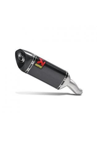 Akrapovic elliptischer Schalldämpfer mit Carbon Außenhülle Typ Slip-on YAMAHA MT- 03 Bj. 16