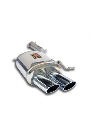 Supersprint Sportauspuff F07 GT 535i-530d-535d inkl. xDrive ab Bj. 10 - Endschalldämpfer links 2x100x70mm oval