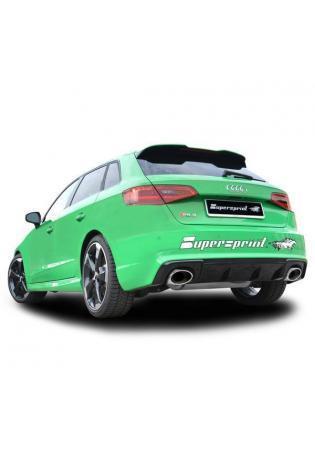 Supersprint Sport Komplettanlage ab Kat für Audi RS3 Sportback 8VA Quattro 2.5l TFSI