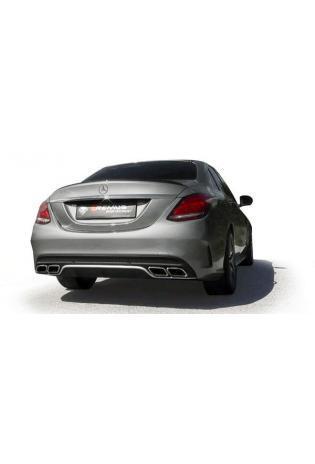 Remus Endschalldämpfer mit Mercedes-Benz C-Klasse W205 C 63 AMG S V8  ab Bj. 2014 510 PS