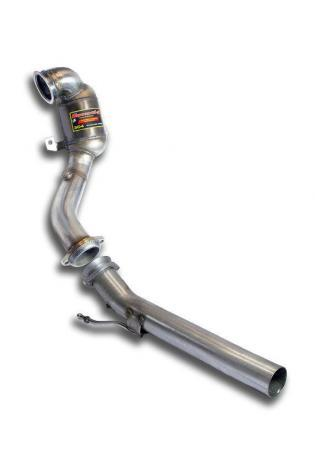 Supersprint Sportauspuff Downpipe mit Sport Metallkat WRC 100 CPSI Seat Ibiza Cupra 1.8 TSI Bj ab15