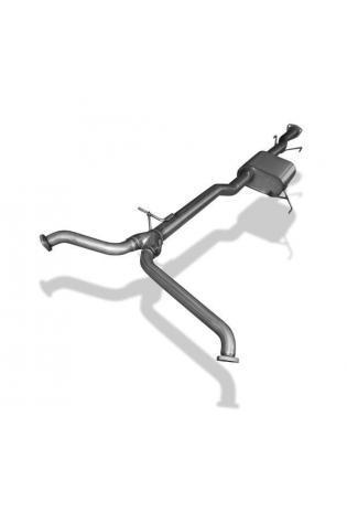 FOX Vorschalldämpfer Chevrolet Captiva 3.2 4WD 169 kW/230 PS ab Bj. 2006