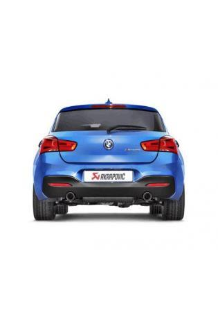 AKRAPOVIC Evolution Line Edelstahl Duplex Sportauspuff BMW 1er M140i F20 F21 ab Bj. 2015