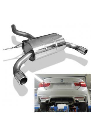 FOX Duplex Endschalldämpfer BMW 4er Gran Coupé 420i 428i F36 re/li je 1x80mm