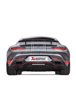 AKRAPOVIC re/li Endschalldämpfer Klappensteuerung Titan Mercedes-Benz AMG GT / GT S ab Bj. 2014