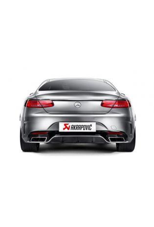 AKRAPOVIC Evolution Link Pipe Set Vorschalldämpfer Mercedes-Benz S 63 AMG ab Bj.14