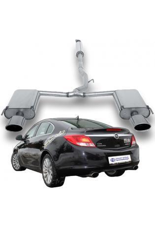 FOX Sportauspuff Anlage ab Kat Opel Insignia 4x4 Fließheck & Stufenheck beidseitig 140x90 Typ 44