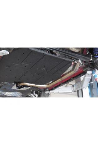 FOX Sportauspuff Vorschalldämpferersatzrohr Honda Civic IX Type R 2.0l 228kW Ø70mm Bj. 2005-2016