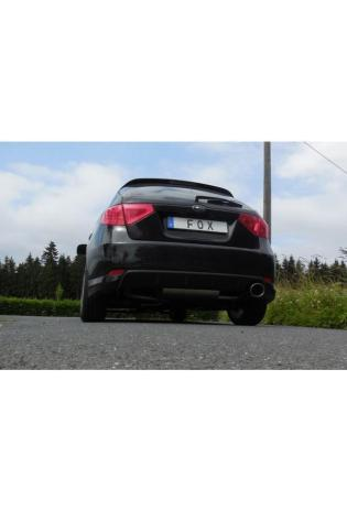FOX Sportauspuff Komplettanlage ab Kat. Subaru Impreza GHD Schrägheck rechts 129x106mm