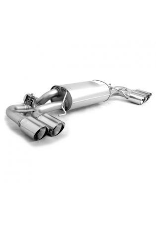 Remus Duplex Sportauspuff BMW 5er M550i xDrive G30 Limousine re/li je 2x102mm straight cut