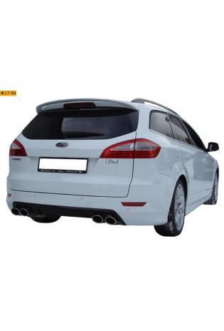 FOX Duplex Sportauspuff Racinganlage ab Kat. Ford Mondeo 4 Limousine u. Kombi 2.5l re/li je 2 x 106x71mm oval