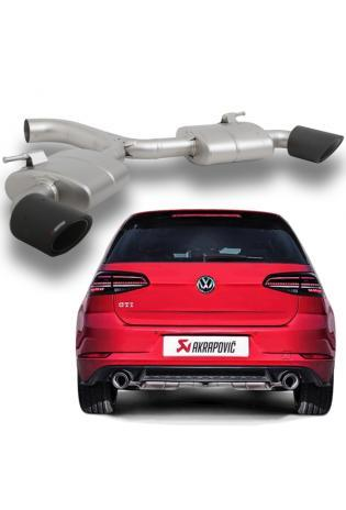 Akrapovic TITAN Sportauspuff VW Golf VII GTI Performance Facelift re li je 1x100mm