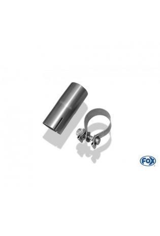 FOX Sportauspuff Adapter 60mm auf originale Anlage inkl. Schelle BMW F36 420i