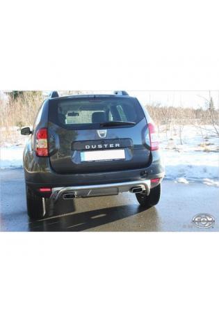 FOX Duplex Sportauspuff Dacia Duster 4x4 1.6l 1.5l D re/li je 145x65mm Typ 59