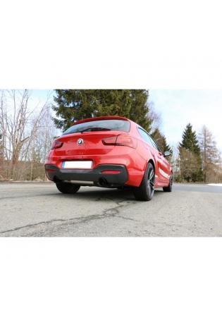 FOX Duplex Sportauspuff BMW 1er F20/F21 M140i re/li je 1x100mm Typ 25 Schwarz
