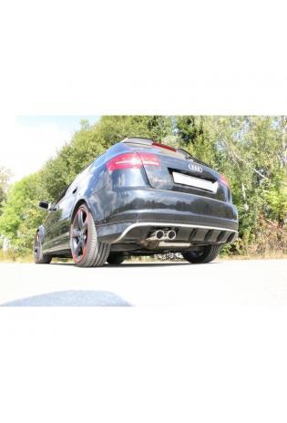 FOX Sportauspuff Komplettanlage ab Kat. Audi RS3 Typ 8P quattro Sportback 2x90mm Typ 16