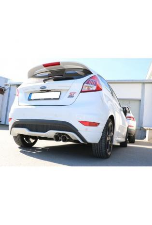 FOX Sportauspuff Komplettanlage ab Kat. Ford Fiesta VII ST200 2x90mm Typ 25