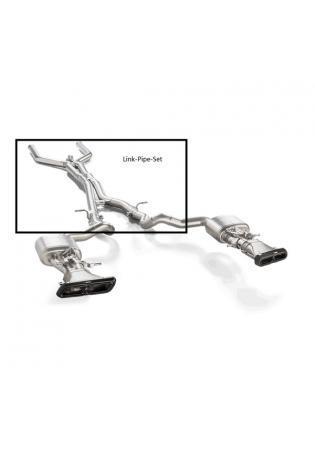 Akrapovic Evolution Line Sportauspuff für Mercedes E63 AMG W213 Titan Link Pipe Set