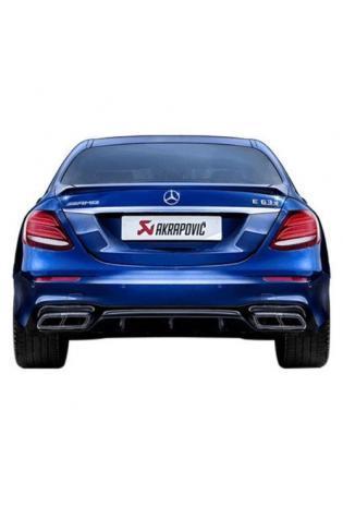 Akrapovic Evolution Line Sportauspuff für Mercedes E63 AMG W213 Titan Endschalldämpfer
