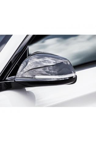 Akrapovic Carbon Spiegelkappen Set für BMW M2 F87 in high gloss