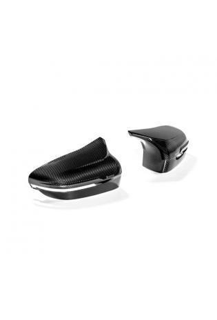 Akrapovic Carbon Spiegelkappen Set für BMW M5 F90 + M8 F91 F92 high Gloss