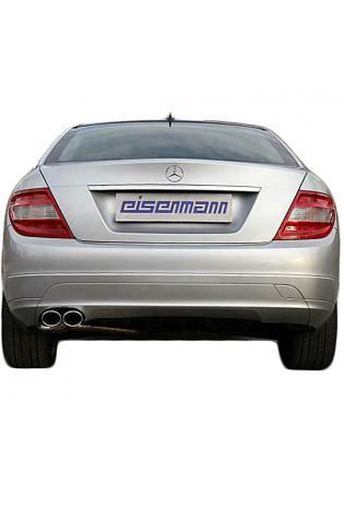 EISENMANN Sportauspuff Mercedes W204 S204 C204 C180 links 2x90x70mm