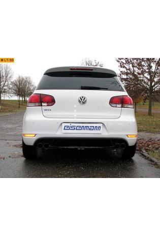 EISENMANN Racinganlage ab Kat. VW Golf 6 Typ 5K0 Limousine 2.0l GTI rechts links je 2 x 76mm