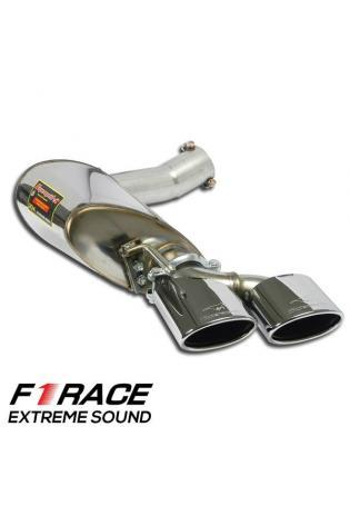Supersprint Endschalldämpfer F1 Race links Mercedes W212 C218 X218 500 550 63AMG