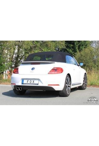 FOX Komplettanlage ab Kat. VW Beetle 5C Coupe und Cabrio Einzelradaufhängung links 2x80mm