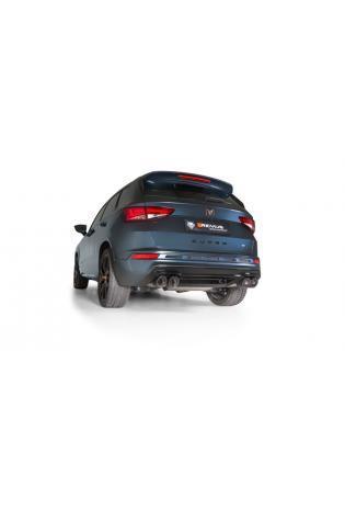REMUS Duplex Klappen Sportschalldämpfer OPF Seat Ateca cupra 4drive je 2x98mm Street Race Black
