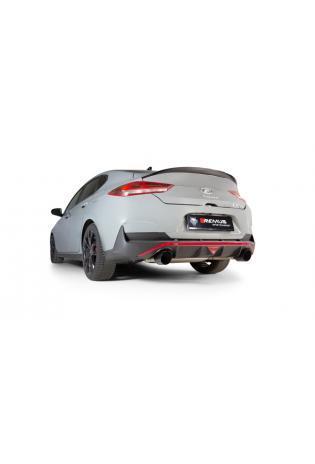REMUS Duplex Klappen Sportschalldämpfer OPF Hyundai i30 Fastback N Typ PD je 1x115mm Black Chrome