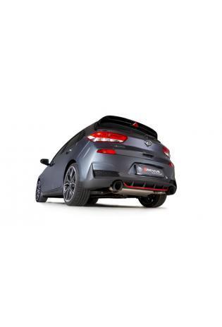REMUS Duplex Klappen Racinganlage ab Kat. OPF Hyundai i30 Fastback N Typ PD je 1x115mm verchromt
