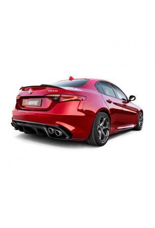 Akrapovic Adapter für Downpipe für Alfa Romeo Giulia Quadrifoglio