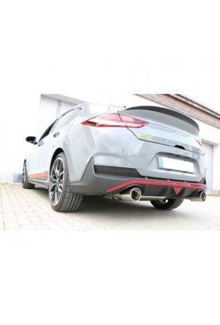 FOX Duplex Sportauspuff Hyundai i30N Performance Fastback 2.0l rechts links je 1x114mm eingerollt