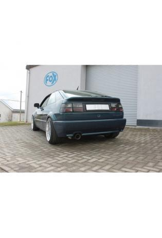 FOX Sportauspuff Komplettanlage ab Kat. VW Corrado 2.0l  2.9l 1x100mm Typ 25