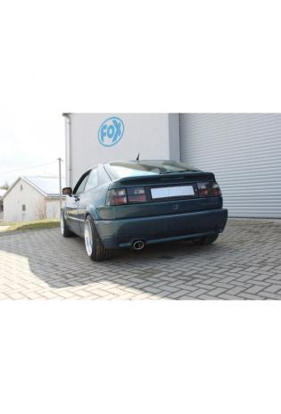 FOX Sportauspuff Racinganlage ab Kat. VW Corrado 2.0l  2.9l 1x115x85mm Typ 44