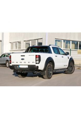 FOX Sportauspuff Ford Ranger 4x4 Bj. 2011-08/2015 1x63mm Dieseloptik
