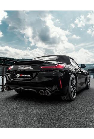 Remus Duplex Klappen Sportauspuff BMW Z4 M40i Roadster 3.0l Turbo 2x115mm Black Chrome