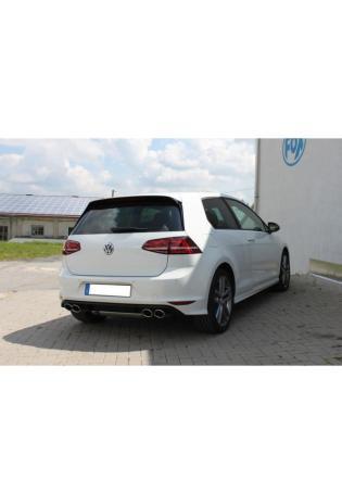 FOX Duplex Komplettanlage ab Kat. VW Golf VII mit starrer Hinterachse R-Optik re li 2x115x85mm Typ 32